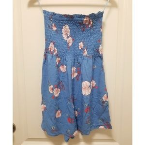 Smocked Tube Floral Romper Dress – Cotton On